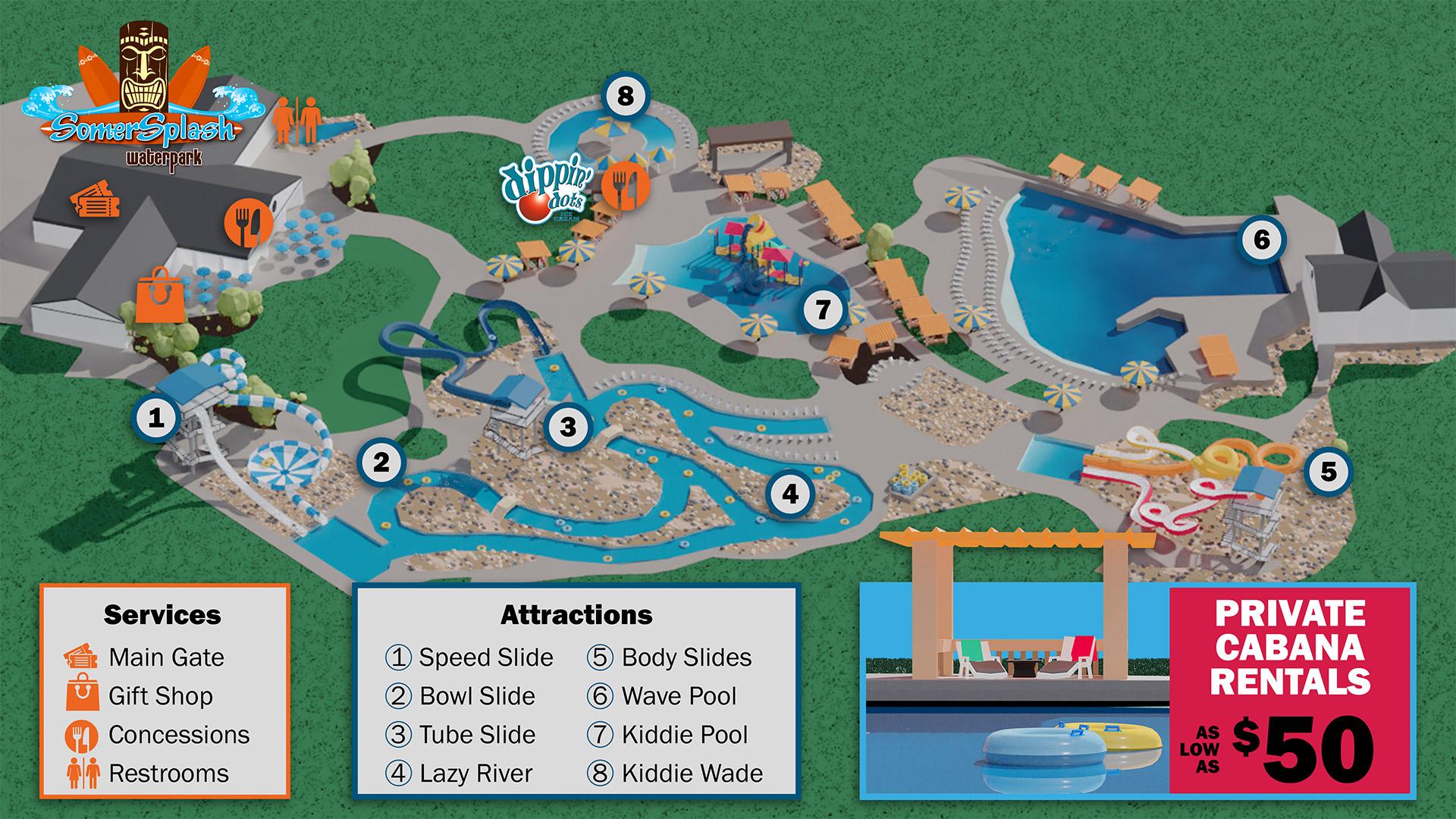somersplash park map